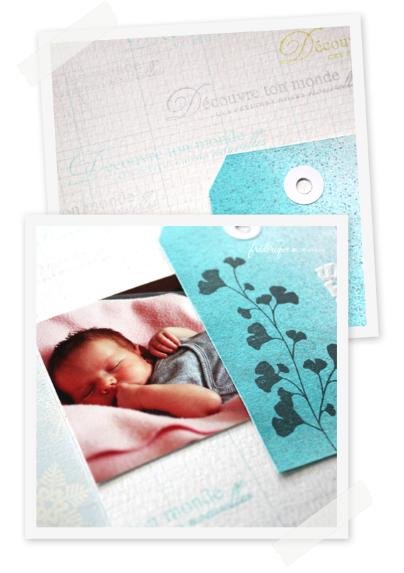 Photos carte nine bloomini studio scrapbooking