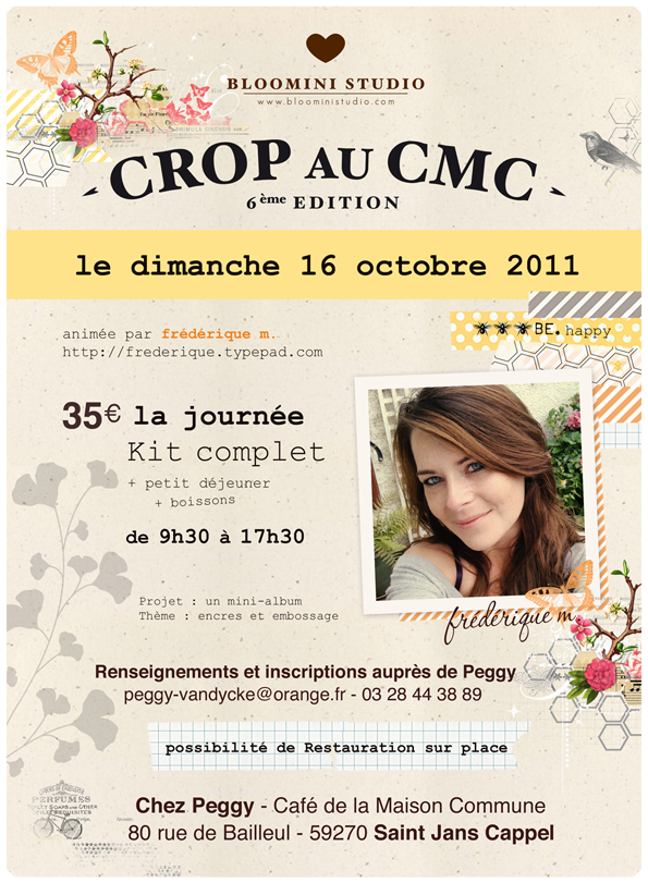 Affiche 16 octobre CMC Bloomini Studio web