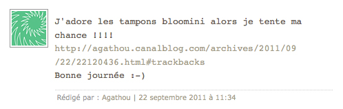 Resultat blog candy bloomini